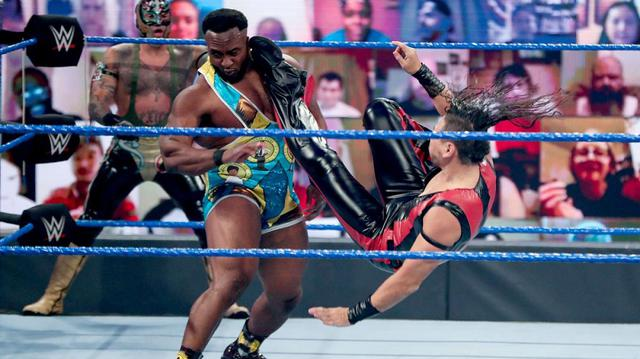 画像: 中邑真輔、ダニエル・ブライアンらが6人タッグ戦で故パット・パターソンを追悼【WWE】