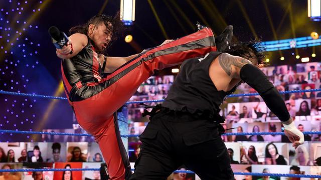 画像: 中邑がジェイに報復。そして王者レインズに宣戦布告【WWE】