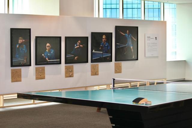 画像: パラ卓球のアート展が渋谷で開幕。パラスポーツ×アーティストのコラボで新たな魅力届ける