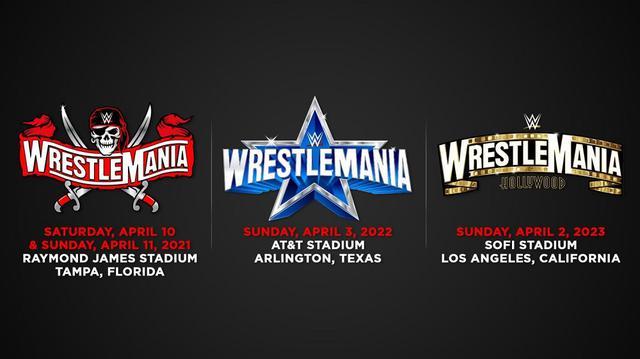 画像: 「レッスルマニア」の向こう3年間の開催地が決定。今年は10~11日にフロリダ州で開催【WWE】