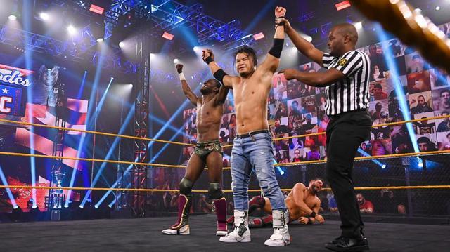 画像: KUSHIDAが新技でガルガノを沈めてタッグチームクラシック1回戦突破【WWE NXT】