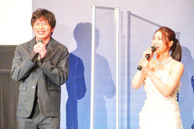画像: 田中圭、土屋太鳳からの評価は「アボカド俳優」!?映画『哀愁しんでれら』舞台挨拶