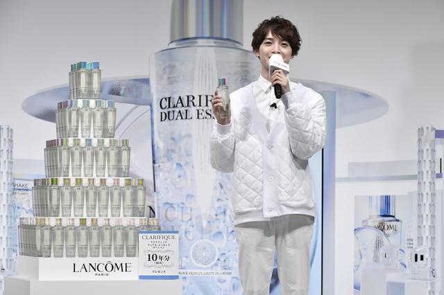 画像: キスマイ玉森裕太「あやかりたい」人気化粧水とナンバーワン目指す!