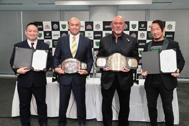 画像: CyberFightグループのDDTに秋山準、ノアに武藤敬司が入団
