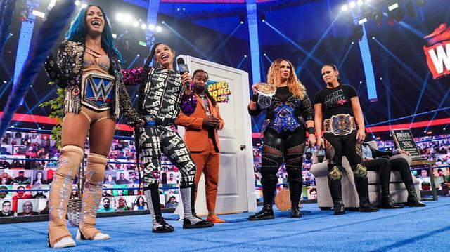 画像: サーシャ&ビアンカ vs シェイナ&ナイアのWWE女子タッグ王座戦が決定【WWE】