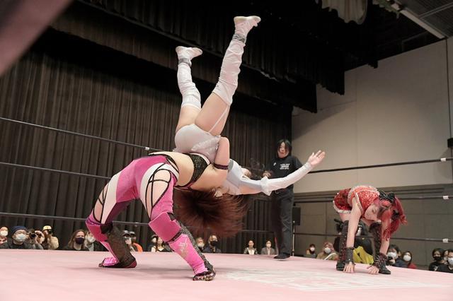 画像: タッグトーナメント4強が出そろう。山下実優&伊藤麻希は「白昼夢」を破り優勝宣言【東京女子プロレス】