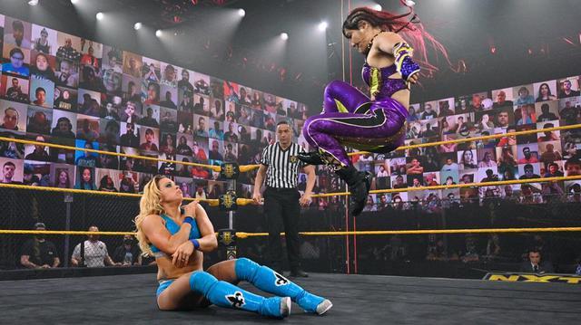 画像: 紫雷イオ vs.トニー・ストームのNXT女子王座戦が決定【WWE NXT】