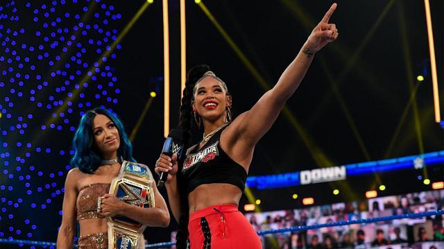 画像: RR戦覇者ビアンカが「レッスルマニア37」の対戦相手にSD女子王者サーシャを指名【WWE】