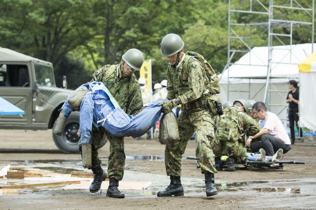 画像: 首都直下地震をテーマに渋谷区の災害対策を紹介