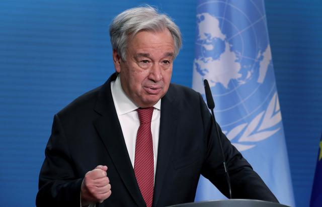 画像: 国連事務総長、震災10年にビデオメッセージ。「誰一人取り残さないために」