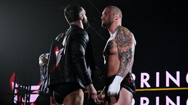 画像: フィン・ベイラーvsカリオン・クロスのNXT王座戦が決定【WWE NXT】