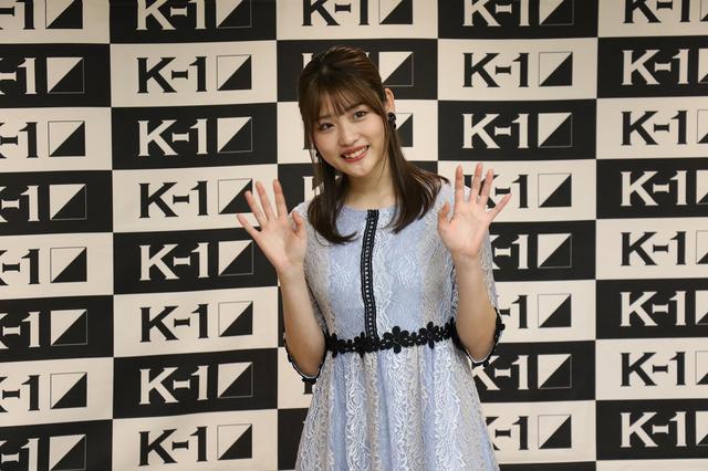 画像: K-1でラウンドガールに初挑戦の石田桃香が「キックを極めたい」