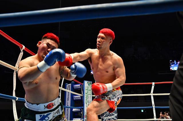 画像: 元ボクシング王者・京太郎が10年ぶりのK-1参戦。強烈なパンチで実方を粉砕KO【3・28 K-1】