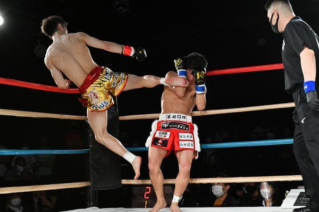 画像: 初参戦の兼田が栗秋に判定勝ち。栗秋は泥沼の4連敗【KNOCK OUT】