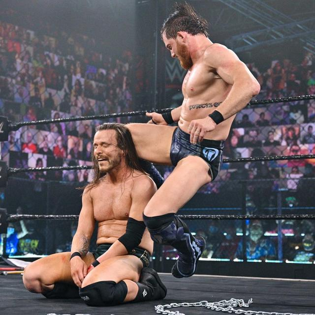 画像: カイル・オライリーが仲間割れしたアダム・コールとの遺恨戦を制す【WWE NXT】