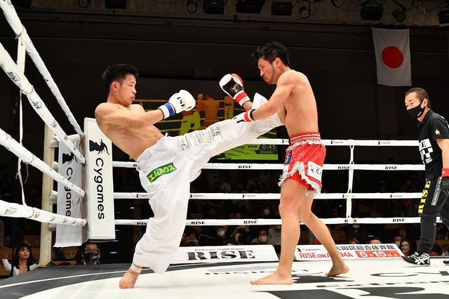 画像: 工藤政英が田渕神太に判定勝ちも「KOできなくて申し訳ございません」【4・17 RISE】