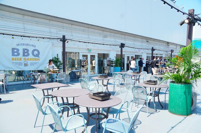 画像: 今年はBBQが熱い!池袋PARCO屋上で韓国風バーベキューが楽しめる「BBQビアガーデン」オープン