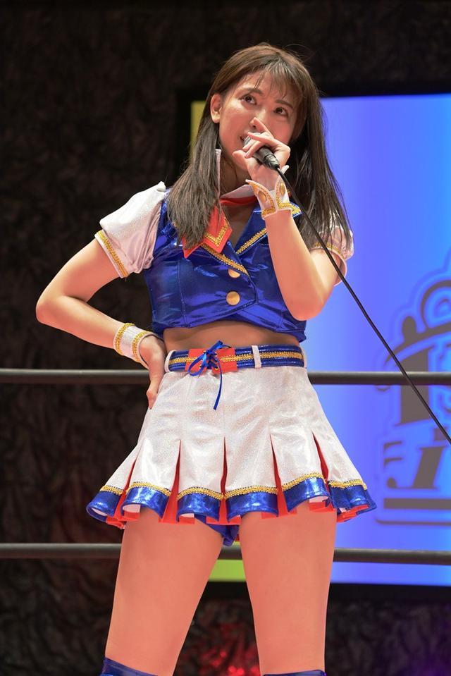 画像: SKE48荒井優希が本格デビューも伊藤麻希の前に惜しくも敗退【東京女子プロレス】
