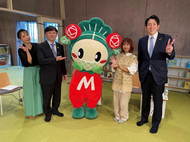 画像: 「まつばらマルシェ」初のオンライン開催 Dream Aya、澤井宏文松原市長