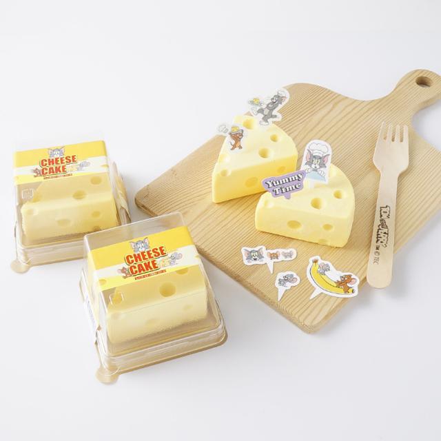 画像: 思わずなかよくけんか?「トムとジェリー」の穴あきチーズがモデルのレアチーズケーキ発売