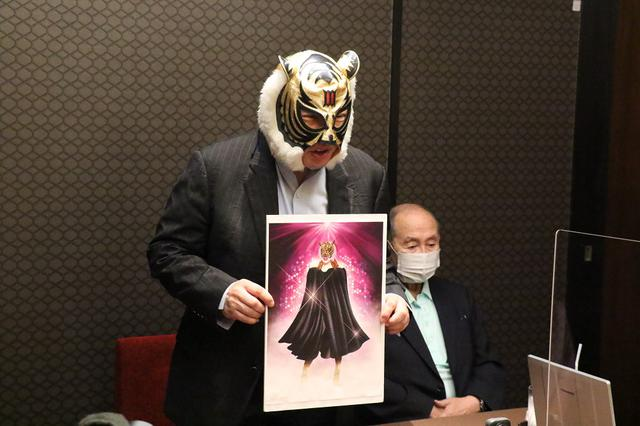 画像: 初代タイガーマスク、佐山サトルが自ら育てた女性版タイガーマスク「タイガークイーン」誕生