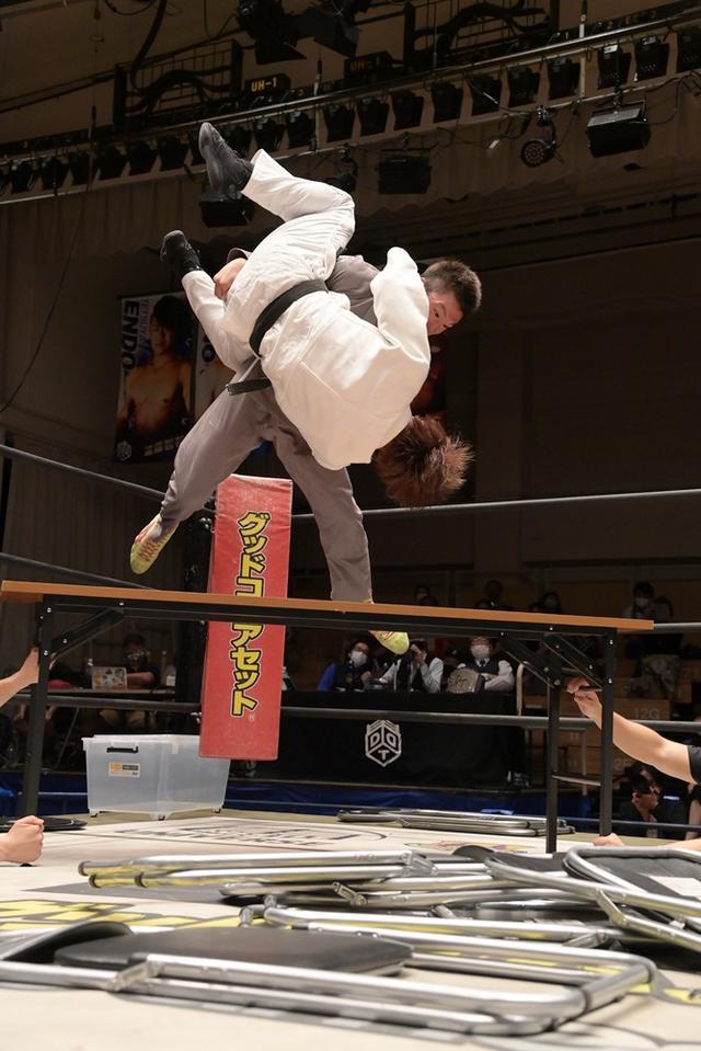 画像: 青木真也がハードコア柔道でMAOを下しEXTREME王座初V。9・12福岡で平田一喜がよもやの挑戦へ【DDT】