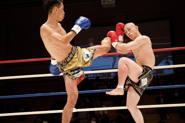 画像: 璃明武が計量オーバーの吉岡ビギンを完封。「準決勝と決勝はKOで」とV宣言【Krush.128】