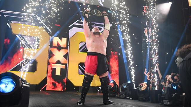 画像: サモア・ジョーがカリオン・クロスを破り史上初の3度目となるNXT王座を戴冠【WWE NXT】