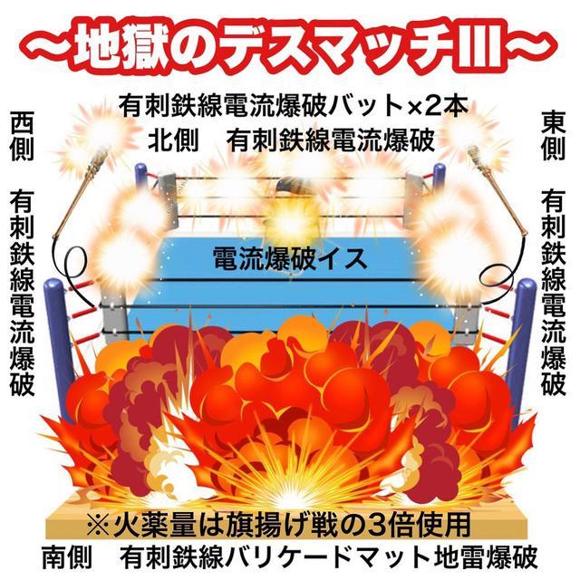 画像: 9・12鶴見での大仁田厚vsミスター・ポーゴの一騎打ちは「地獄のデスマッチIII」【FMW-E】