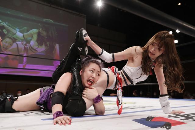 画像: 勝った赤井沙希がガンジョのまなせゆうなをついに認める「もっと暑苦しくなってパワーアップしたら、またシングルやってあげてもええ」【DDT】
