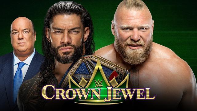 画像: 王者レインズとレスナーのユニバーサル王座戦がPPV「クラウン・ジュエル」で決定【WWE】