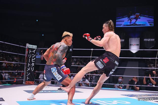 画像: 井上直樹が金太郎に判定勝ち。準決勝は「朝倉海選手か扇久保選手と戦いたい」【RIZIN】