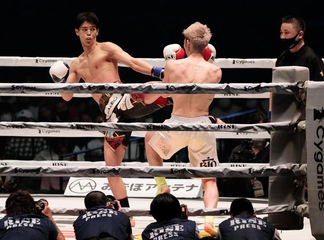 画像: 直樹が白鳥大珠を返り討ち。中村寛の対戦アピールには「63kgで一度も試合をしていないのにタイトル戦?」と拒否【RISE】