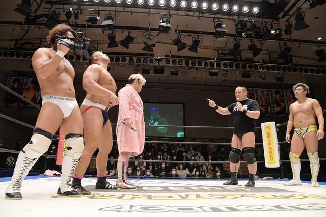 画像: 高木三四郎がフェロモンズ壊滅を宣言。11・3大田区でのKO-D6人タッグ王座決定戦に名乗り【DDT】