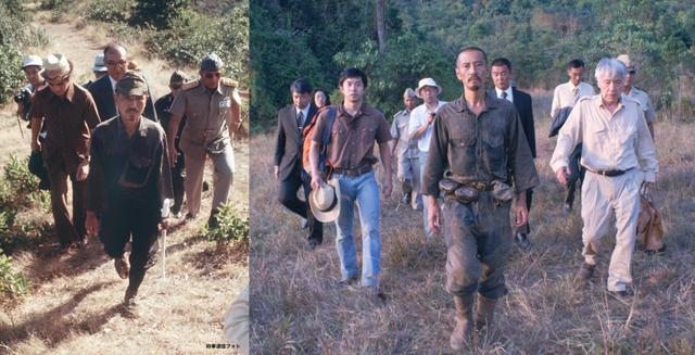 画像: 「30年ぶりにジャングルから出た」小野田少尉の歴史的瞬間! 当時の報道写真と映画『ONODA』劇中の比較写真公開