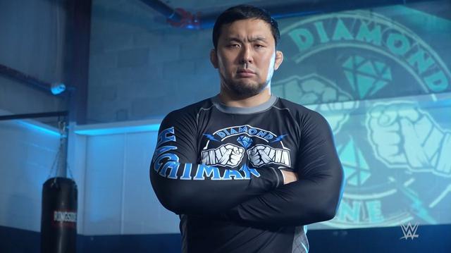 画像: NXTを席巻するダイヤモンド・マインのハチマンがユニバースに「我々から目を離さないように」【WWE NXT】
