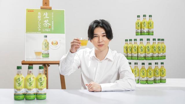 画像: 吉沢亮も「取り入れる!」満島ひかりと免疫ケアできる緑茶の新CM
