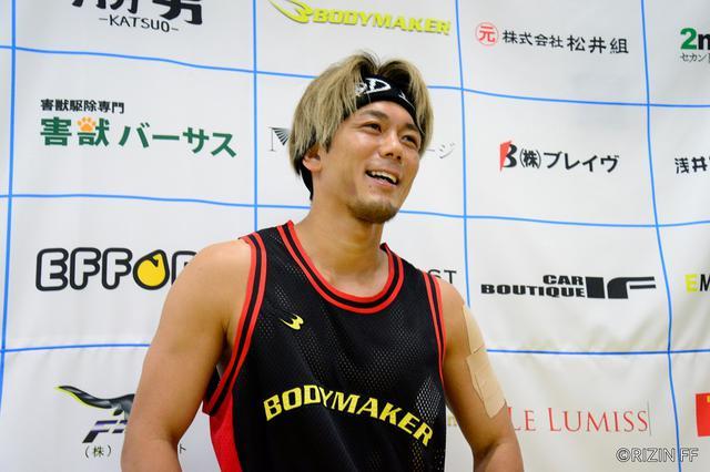 画像: 皇治が沖縄で再起戦。「相手は誰でもいい」に榊原CEO「一泡吹かせてやろうという沖縄の選手に名乗りを上げてほしい」【RIZIN】
