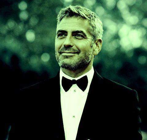 画像: ジョージ クルーニーのスーツ着こなし : サラリーマンのスーツ 着こなし術