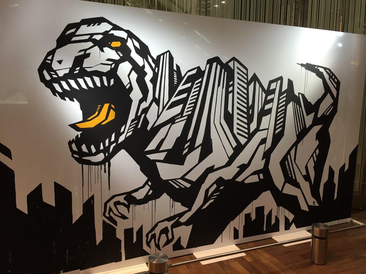 画像1: タカシマヤ タイムズスクエアに福井から恐竜たち がやってきた !