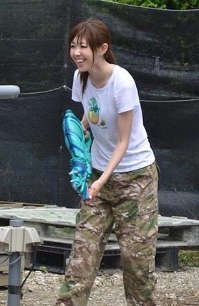 画像: びしょ濡れでも楽しい生田晴香