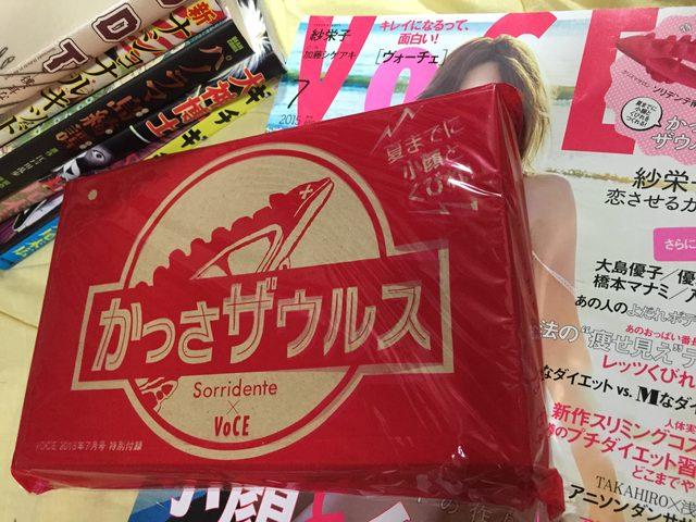 画像: 雑誌とかっさザウルスケースの箱