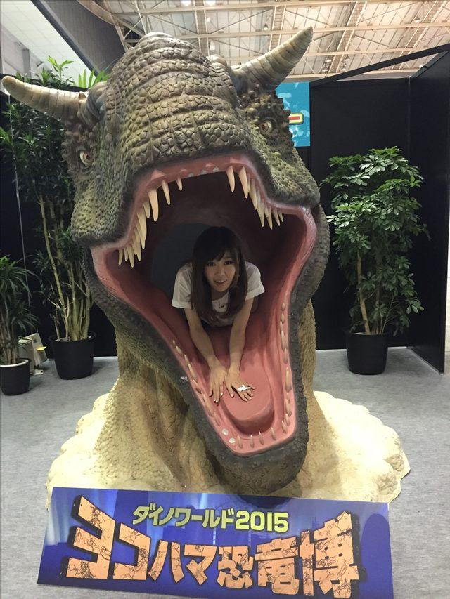 画像: カルノタウルスに食べられたかと思ったら生きてました、生田晴香です。