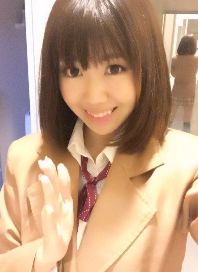 画像: ハロウィンコスプレをした生田晴香。