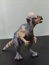 画像: 生田家のパキケファロサウルスフィギュア