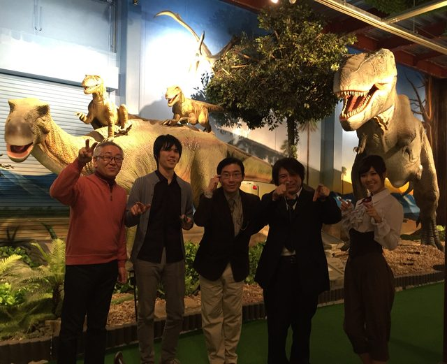 画像: 恐竜に詳しいメンバーで!