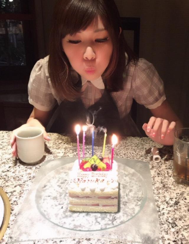 画像: 3/27誕生日を祝ってもらう生田晴香