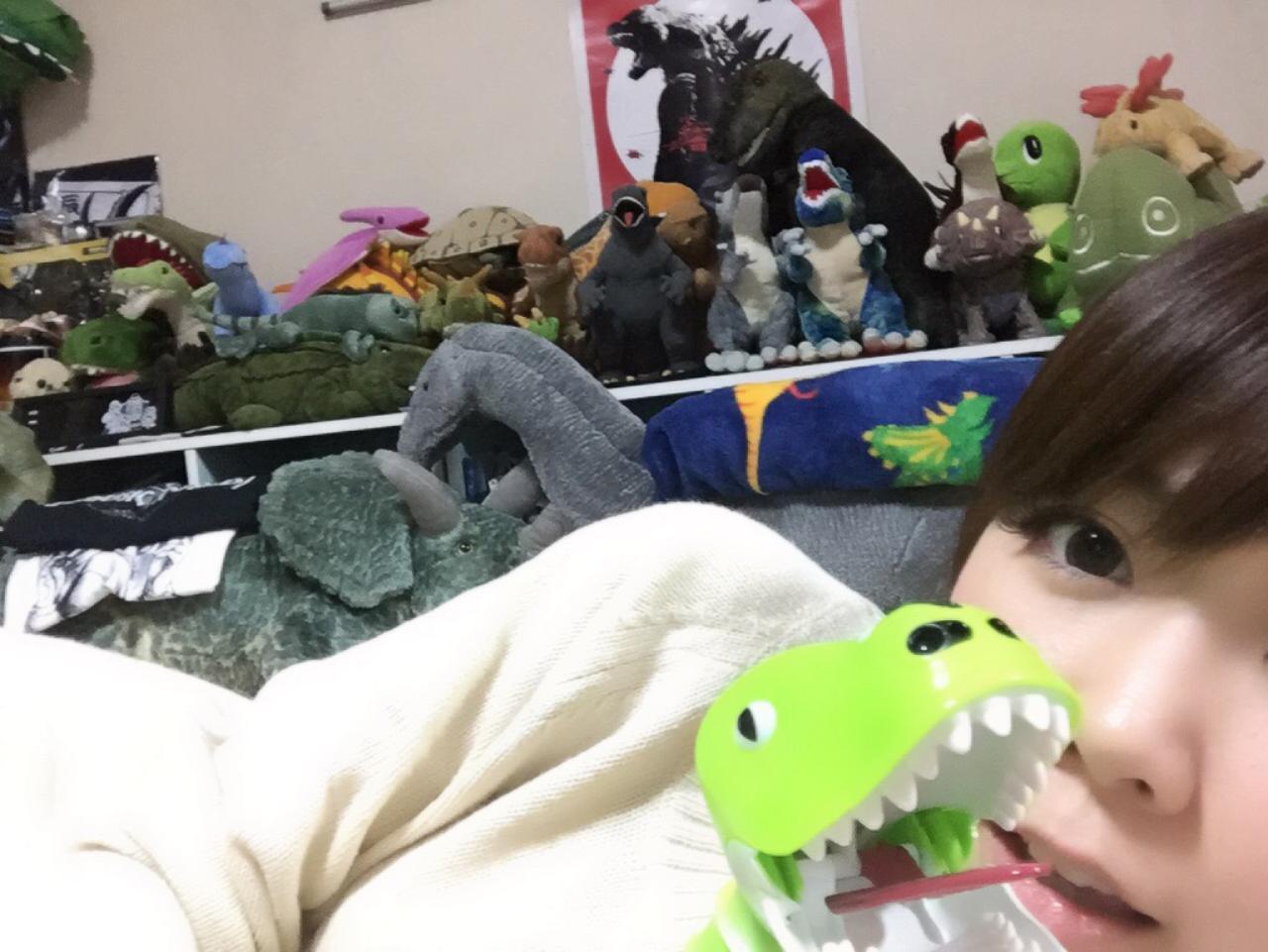 画像: 5/5はこどもの日という事で生田家の恐竜・怪獣たちの誕生日を祝い、 「新恐竜の日」を作りました。生田晴香です。
