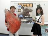 画像: 左が亀井さん。右は生田晴香。