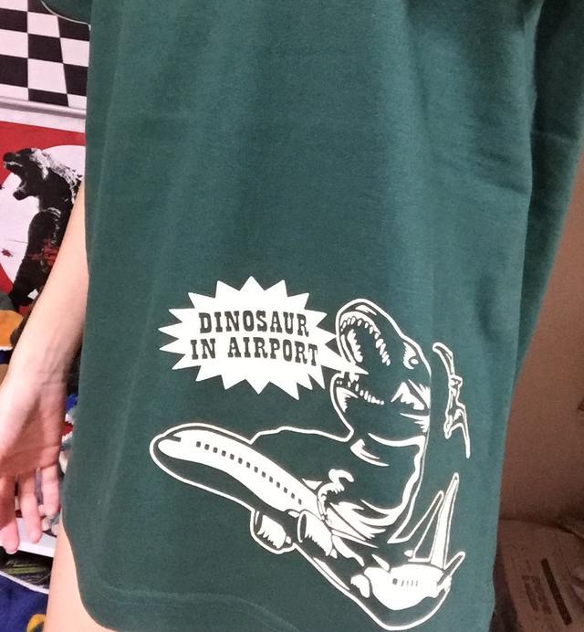 画像: 恐竜Tシャツ